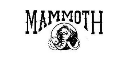 MAMMOTH Trademark of MAMMOTH VAN LINES, INC. Serial Number