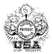 NATIONAL PHYSIQUE COMMITTEE USA BODY BUILDING Trademark of