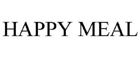 HAPPY MEAL Trademark of MCDONALD'S CORPORATION. Serial