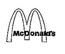 M MCDONALDS Trademark of MCDONALD'S CORPORATION Serial
