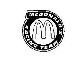 M MCDONALD'S RACING TEAM Trademark of MCDONALD'S