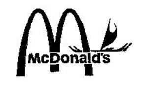 MCDONALDS Trademark of MCDONALD'S CORPORATION. Serial