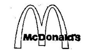 MCDONALD'S M Trademark of MCDONALD'S CORPORATION Serial
