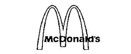 MCDONALD'S M Trademark of MCDONALD'S CORPORATION. Serial