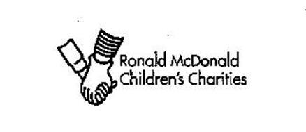 RONALD MCDONALD CHILDREN'S CHARITIES Trademark of MCDONALD