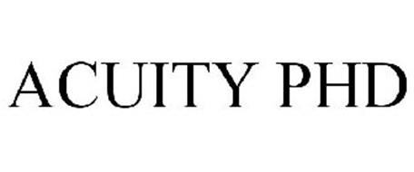 ACUITY PHD Trademark of MCGRAW-HILL SCHOOL EDUCATION