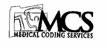 MCS MEDICAL CODING SERVICES Trademark of Medical Coding