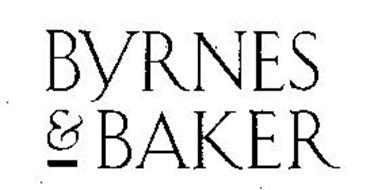 BYRNES & BAKER Trademark of MELVILLE CORPORATION Serial
