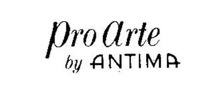 PRO ARTE BY ANTIMA Trademark of MONTRES ANTIMA SA Serial