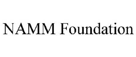 NAMM FOUNDATION Trademark of National Association of Music