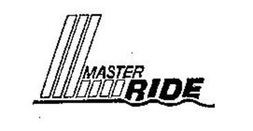 MASTER RIDE Trademark of NATIONAL AUTOMOTIVE PARTS