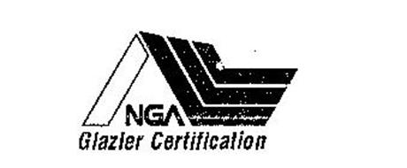 N NGA GLAZIER CERTIFICATION Trademark of National Glass