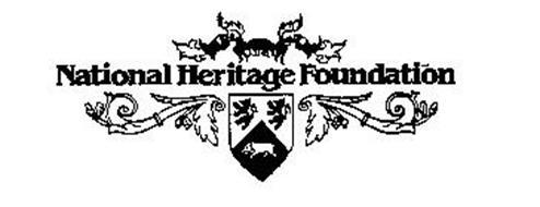 NATIONAL HERITAGE FOUNDATION Trademark of NATIONAL
