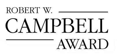 ROBERT W. CAMPBELL AWARD Trademark of NATIONAL SAFETY