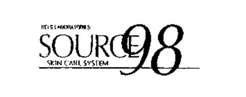NELS LABORATORIES SOURCE 98 SKIN CARE SYSTEM Trademark of