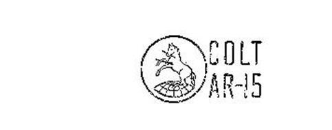 COLT AR-15 Trademark of NEW COLT HOLDING CORPORATION