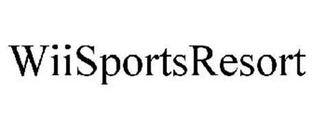 WII SPORTS RESORT Trademark of Nintendo of America Inc