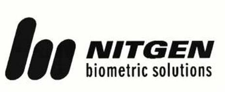 NITGEN BIOMETRIC SOLUTIONS Trademark of NITGEN & COMPANY