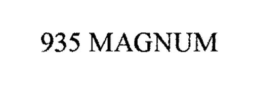 935 MAGNUM Trademark of O.F. Mossberg & Sons, Inc.. Serial
