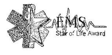 EMS STAR OF LIFE AWARD Trademark of Ohio Chapter of ACEP