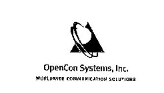 OPENCON SYSTEMS, INC. WORLDWIDE COMMUNICATION SOLUTIONS