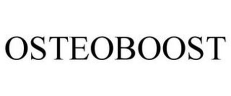OSTEOBOOST Trademark of Osteoremedies, LLC. Serial Number