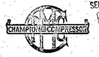 CPMC CHAMPION AIR COMPRESSOR Trademark of Serial Number