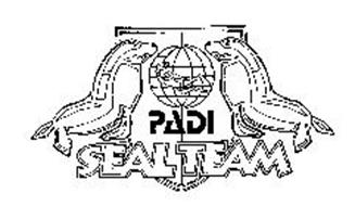 PADI SEAL TEAM Trademark of PADI AMERICAS, INC. Serial