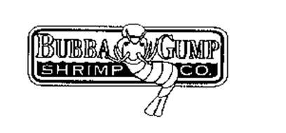 BUBBA GUMP SHRIMP CO. Trademark of Paramount Pictures