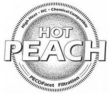 HOT PEACH HIGH HEAT · HC · CHEMICAL COMPATIBLE PECOFACET