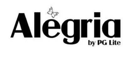 ALEGRIA BY PG LITE Trademark of Pepper Gate Footwear, Inc