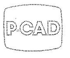 P-CAD Trademark of PERSONAL CAD SYSTEMS, INC. Serial