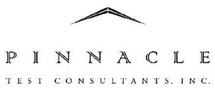 PINNACLE TEST CONSULTANTS, INC. Trademark of Pinnacle Test