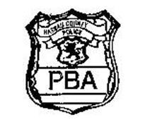 NASSAU COUNTY POLICE PBA POLICE OFFICER Trademark of