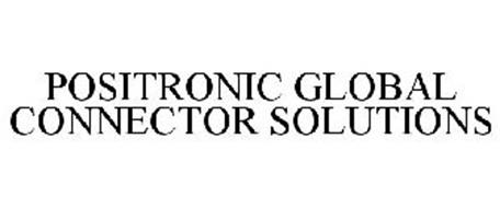 POSITRONIC GLOBAL CONNECTOR SOLUTIONS Trademark of