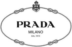 PRADA MILANO DAL 1913 Trademark of PRADA S.A.. Serial
