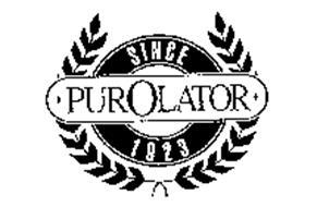 PUROLATOR SINCE 1923 Trademark of PUROLATOR FILTERS NA LLC