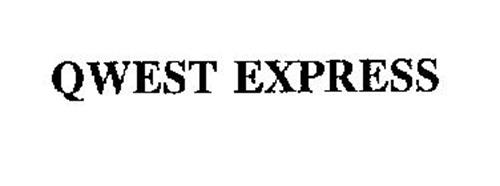 QWEST EXPRESS Trademark of Qwest Communications