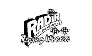 RADIR RACING WHEELS CUSTOM WHEELS Trademark of Radir