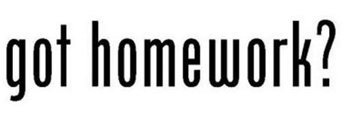 GOT HOMEWORK? Trademark of RAGO, NICHOLAS W.. Serial