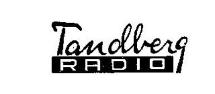 TANDBERG RADIO Trademark of REEVES EQUIPMENT CORP. Serial