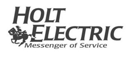 HOLT ELECTRIC MESSENGER OF SERVICE Trademark of Revere