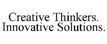 CREATIVE THINKERS. INNOVATIVE SOLUTIONS. Trademark of