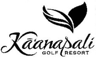 KA'ANAPALI GOLF RESORT Trademark of ROYAL KAANAPALI