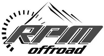 RPM OFFROAD Trademark of RPM Offroad, LLC. Serial Number
