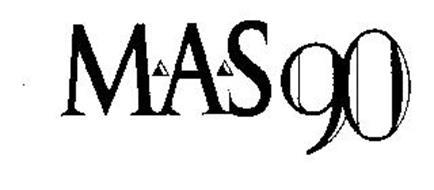 MAS 90 Trademark of SAGE SOFTWARE, INC. Serial Number