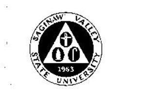 SAGINAW VALLEY STATE UNIVERSITY 1963 Trademark of SAGINAW