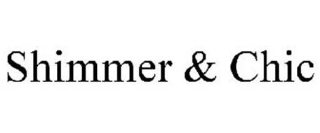 SHIMMER & CHIC Trademark of Sassy Sisters Enterprises, Inc