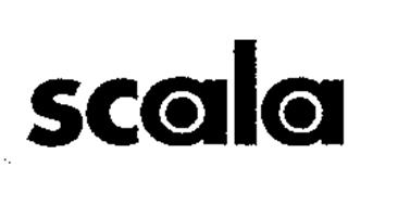 SCALA Trademark of Scala Business Solutions N.V. Serial