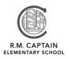 C R.M. CAPTAIN ELEMENTARY SCHOOL Trademark of School
